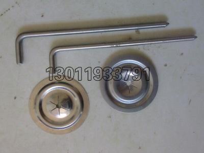 不锈钢保温钩钉自锁压片
