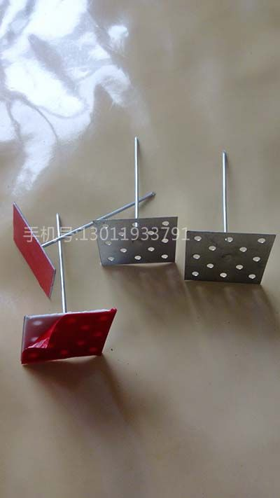 铝制保温钉应用